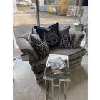 The Savannah Grey 1.5 Seater Sofa