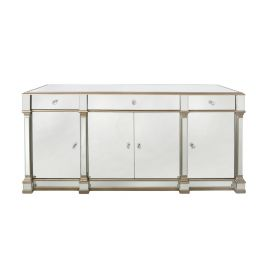 Louis Sideboard Four Door Three Drawer Gold