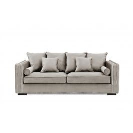 Valentia Three Seater Sofa Mink