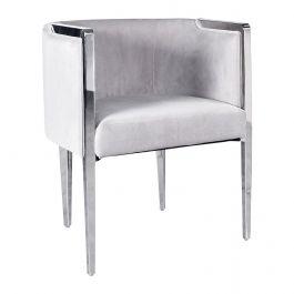 HANNAH Bucket Chair Light Mink