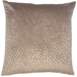 Zircon Taupe Cushion