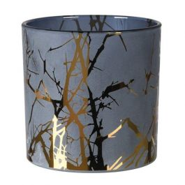 GOLD TWIG CANDLE HOLDER