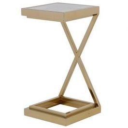 Gold Twist Sofa Table