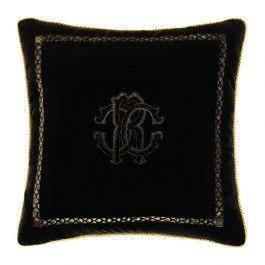 Roberto Cavalli Black Cushion 40x40