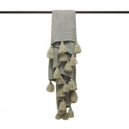 Romily 130x180 Throw Grey/Natural