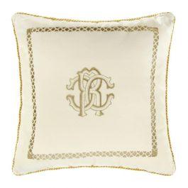 Roberto Cavalli Ivory Cushion 40x40