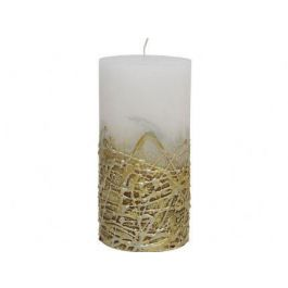 White Candle Texture Gold Base