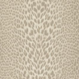 Roberto Cavalli Beige Leopard Wallpaper