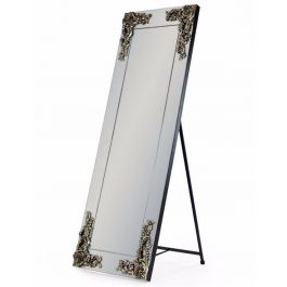 Cheval Mirror With Antique Design