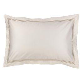 300TC Sateen Stripe Platinum Pillowcase Pair