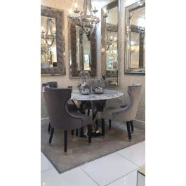 Oxford Marble Dining Table & 4 Chairs