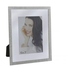 Sparkling Silver Photo frame 5In x 7In