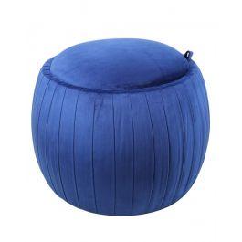 Blue Storage Stool