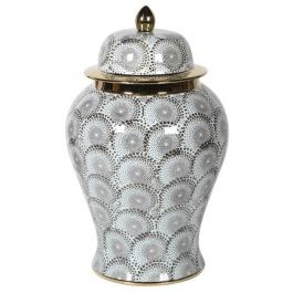 Grey Lidded Ceramic Jar
