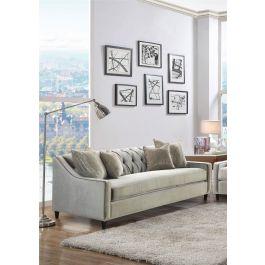 ALMA - 3 Seater Sofa Mink