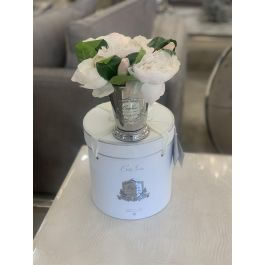 PEONY BOUQUET SILVER CHAMPAGNE
