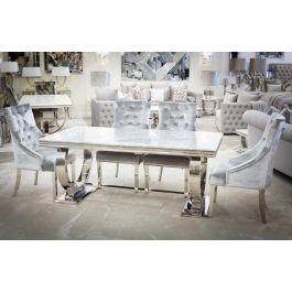 Alma Dining Table Grey 1800mm