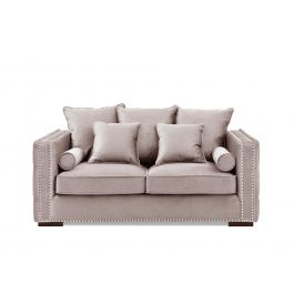 Valentia Two Seater Sofa Pink