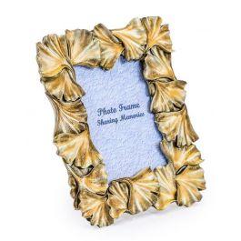 Gold Leaf Photo Frame 4x6
