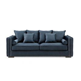Valentia Three Seater Sofa Blue