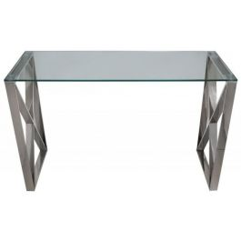 Zena Stainless Steel Console Table